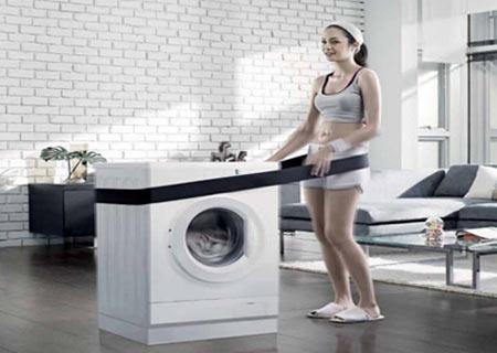 sửa máy giặt bị rung lắc