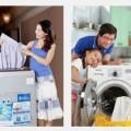 Cơ chế làm sạch quần áo của máy giặt